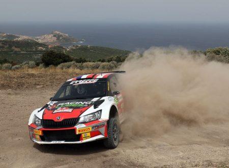 Capolavoro di Consani in Sardegna per Erreffe Rally Team
