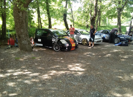 Il primo Parco Chiuso dello Slalom di Ascoli Piceno (foto)