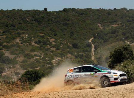 Al Rally Italia Sardegna una esperienza interessante con un risultato deludente per Giorgio Bernardi