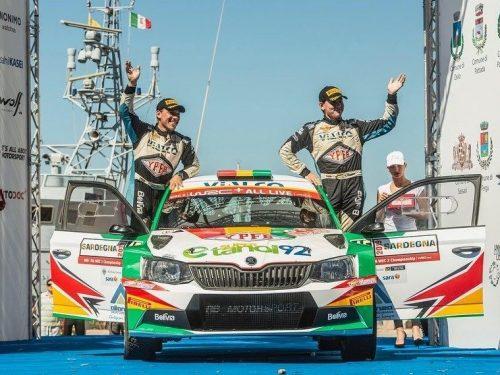 RB MOTORSPORT brilla al Rally Italia Sardegna