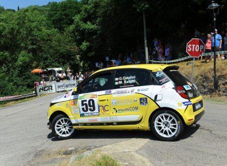 Al Casentino Gabriele Catalini vince il titolo del Twingo R1 Internazionale