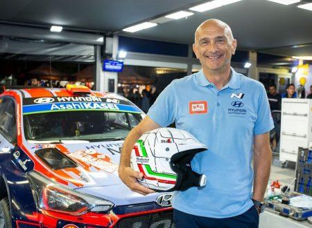 Il WTCR incontra il WRC, con Gabriele Tarquini che prova la Hyundai i20 Coupè WRC