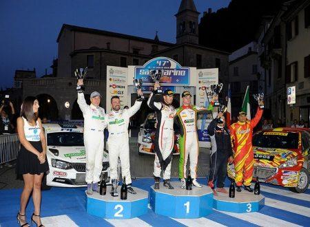 Ceccoli sfiora il bis al San Marino Rally
