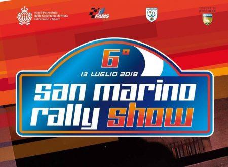 Squadrone d'assalto per il 6° San Marino Rally Show