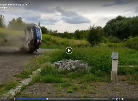 Paura al Barum Rally 2019: diffuse le immagini dell'incidente di Zelindo Melegari