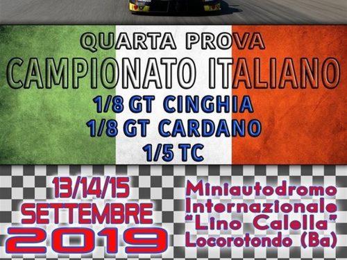 Automodellismo Dinamico, Campionato Italiano 1/5 Touring e 1/8 GT