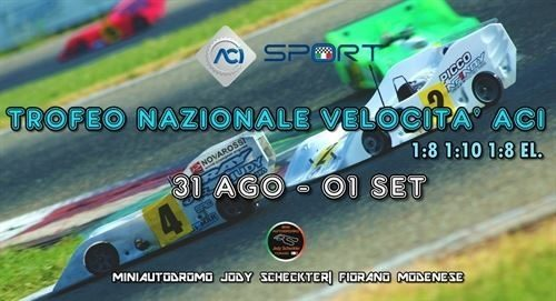 Trofeo Nazionale Velocità RC 1/8 e 1/10 a Fiorano, alcune precisazioni