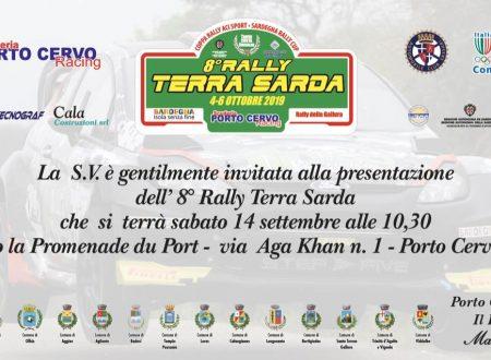 Conferenza stampa Rally Terra Sarda