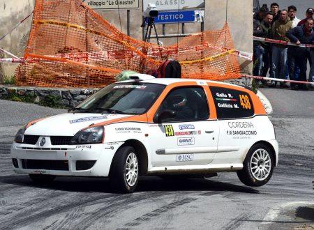 Riccardo Gallo al Casciana Terme con Lanterna Corse