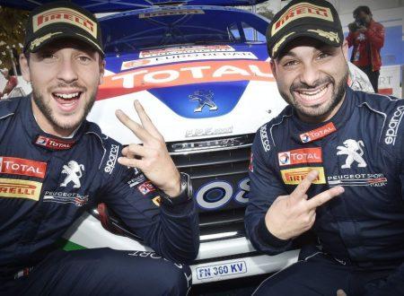 Tommaso Ciuffi con Peugeot Italia vincono il CIR 2 ruote motrici