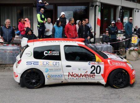 Marco Gianesini è sesto al Rally del Sebino