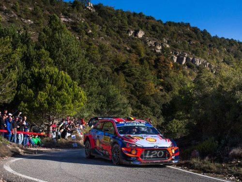 Hyundai Motorsport conquista la vittoria e il doppio podio al Rally di Spagna
