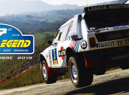 La Scuderia San Marino presente al Rally Legend