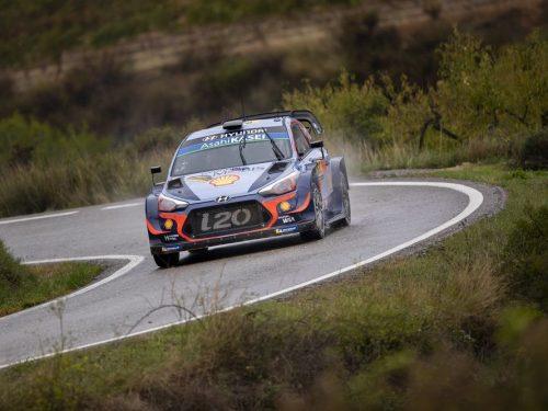Hyundai Motorsport in Spagna per rafforzare la leadership in campionato