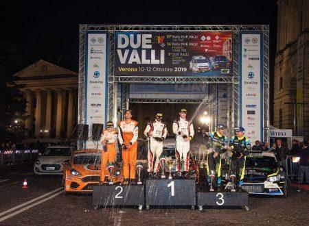 Andrea Crugnola domina il 37° Rally Due Valli