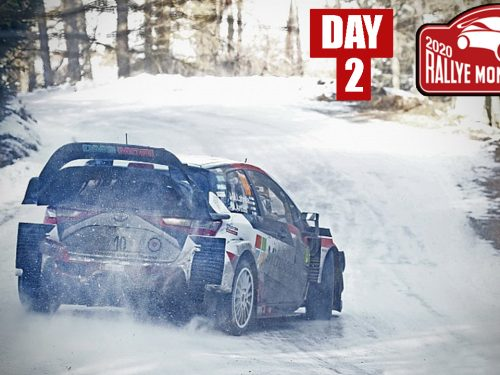 Rally Monte Carlo 2020 | DAY 2 | FLAT OUT & BIG SHOW!
