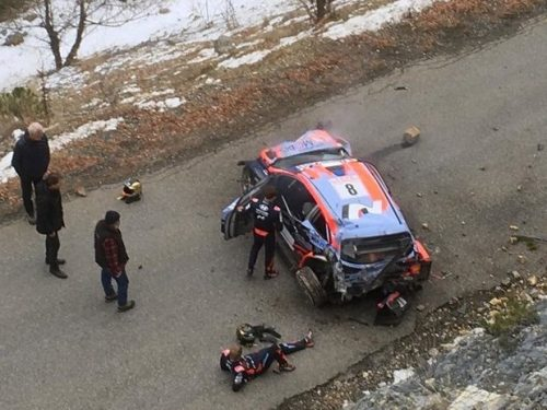 Ott Tanak fuori dal Rally Monte-Carlo 2020