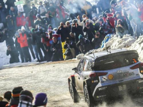 88° Rally di MonteCarlo, alcune riprese a cura di Alex Lambiase Motta