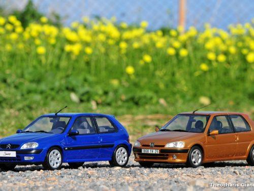 Peugeot 106 VS Citroen Saxo