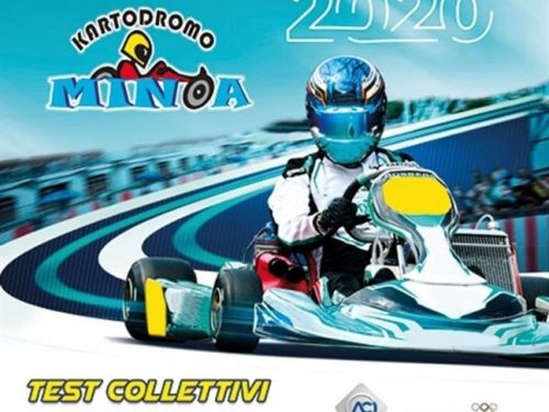 Start del karting a Minoa