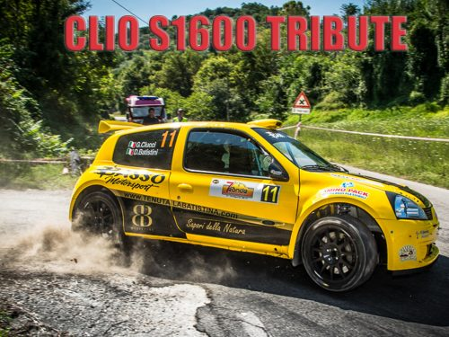 Renault Clio S1600 Tribute: PURE SOUND AND SHOW!!!