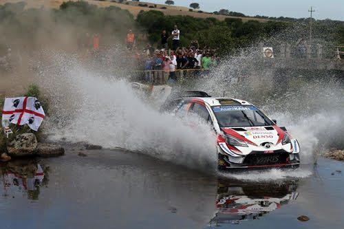 Continuano i lavori per la messa a punto del Rally Italia Sardegna