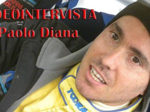 Videointervista a Paolo Diana dal nostro inviato Marco Sechi di Rallydriver