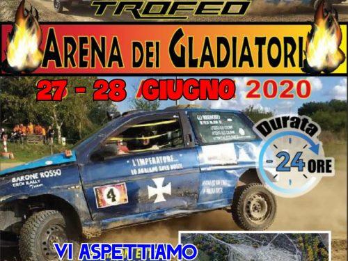 Colle Corse, Trofeo Arena dei Gladiatori 2020, si riparte!