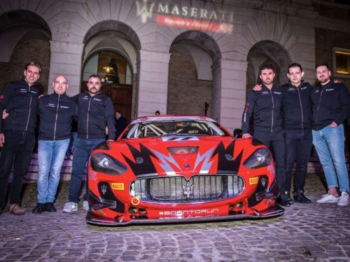 Un nuovo team si affaccia al GT tricolore, è l'AB Corse Motorsport che schiera una Maserati Gran Turismo nella classe GT4 Light