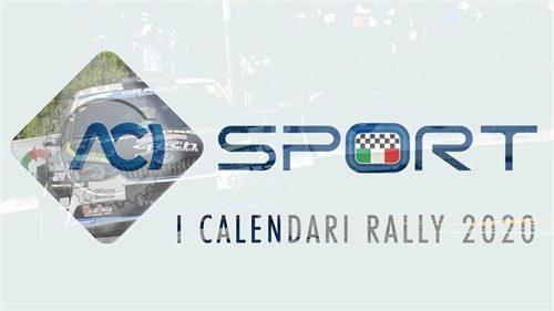 Ecco i nuovi calendari per le serie titolate rally 2020.