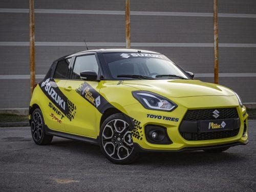 Debutta al Rally Lana la prima vettura ibrida da rally: la Suzuki Swift Sport Hybrid R1
