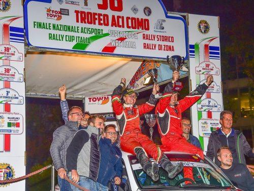 Il 2020 di Vescovi / Guzzi inizia dal Rally Lana