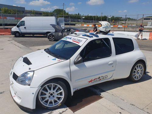 Al via del RallyLana la scuderia Biella Corse