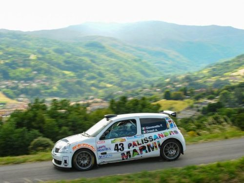 Fabrizio Giovanella, al Casentino, è primo di Super 1600
