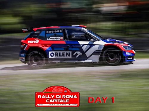 8° Rally di Roma Capitale 2020 | DAY 1 [Video]