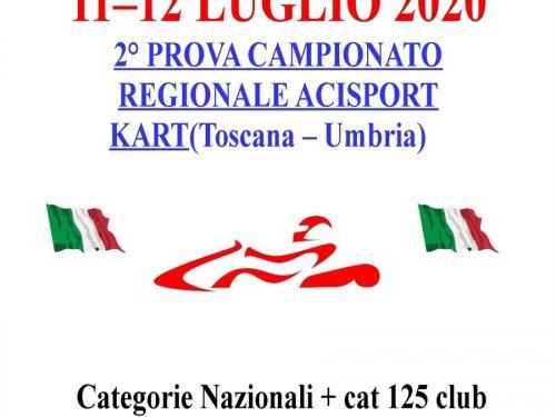 A Cecina la seconda prova del Campionato Regionale Toscana-Umbria
