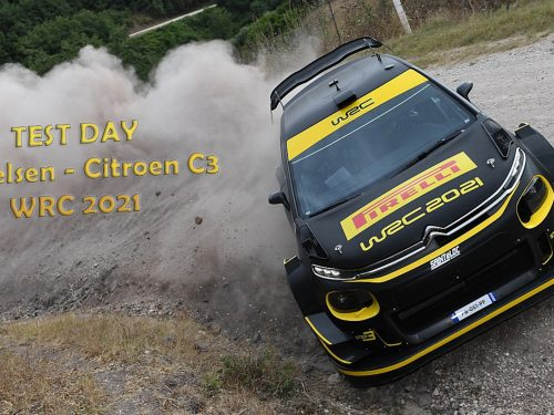 TEST DAY | Andreas Mikkelsen C3 WRC 2021 | HIGHLIGHTS