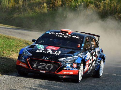 14° Rally di Alba: vittoria di Breen-Nagle (Hyundai i20 R5). La gara  #RAplus a Neuville-Gilsoul (Hyundai i20 WRC)