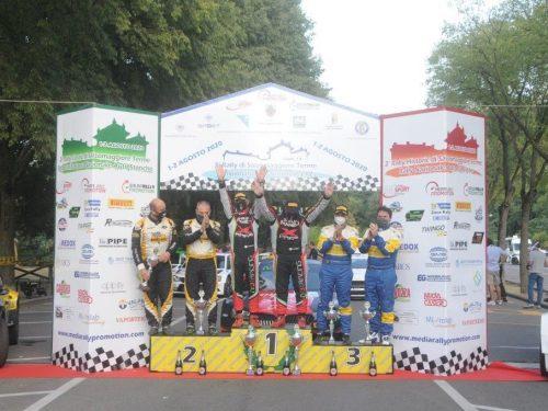 Al 3° Rally di Salsomaggiore Antonio Rusce si aggiudica il podio