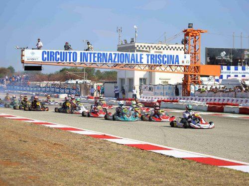Spettacolo nel Tricolore Karting