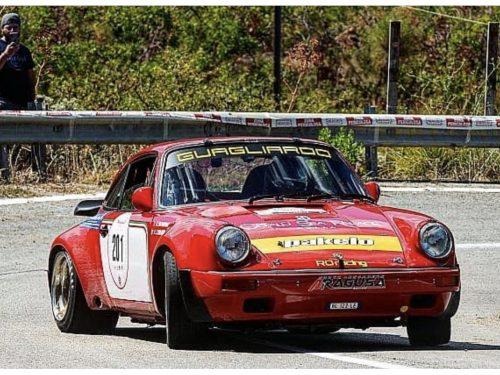 Angelo Lombardo e Hars Ratnayake, alfieri della scuderia RO racing, al via del Rally Elba storico