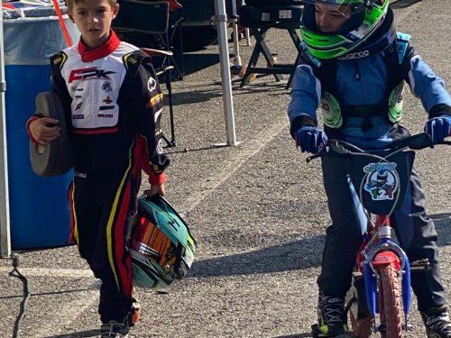 """Buona la prima: Prova maiuscola per i due Babydriver nel 1° appuntamento del """"Trofeo D'autunno"""" sul Circuito South garda Karting"""