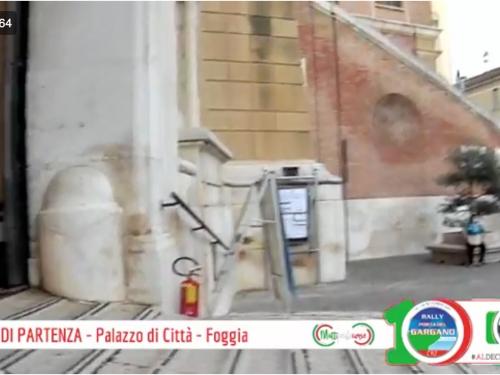 10^ Rally Porta del Gargano 2020: Cerimonia di partenza – Palazzo Città (Foggia).