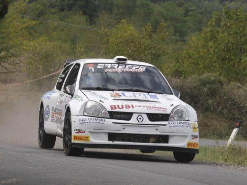 Bella prestazione al Rally Casciana Terme per il team Erreffe Rally Team.