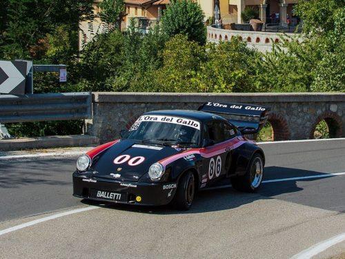 Balletti Motorsport sale bene alla Raticosa