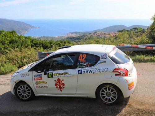 """JOLLY RACING TEAM AL RALLYE ELBA: VITTORIA """"DI CLASSE"""" NELLA MANCHE DI CAMPIONATO ITALIANO WRC"""