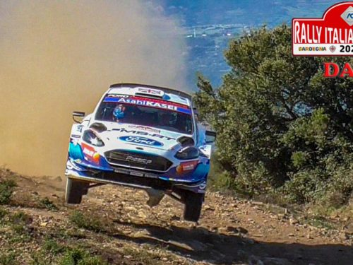 WRC Rally Italia Sardegna 2020 | DAY 1 | BIG SHOW & JUMPS!