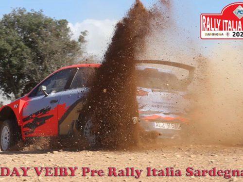 TEST DAY – Ole Christian Veiby | Hyundai i20 R5 | Pre Rally Italia Sardegna 2020