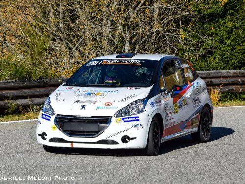 Matteo Giordano vittorioso nel terzo raggruppamento della Michelin Rally Cup 2020