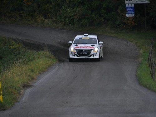Paolo Andreucci e Anna Andreussi al Tuscan Rewind sulla 208 Rally4
